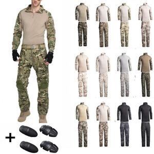 Herren Airsoft Militär BDU Tactical Uniform Shirt Hose Hunting Airsoft Anzüge