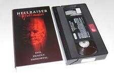 VHS Video ~ Hellraiser Hellseeker / Hell Seeker ~ USA Ex-Rental ~ Card Packaging