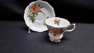 Royal-Albert-England-Bone-China-Sweetheart-Roses-Series-Margaret-Cup-amp-Saucer