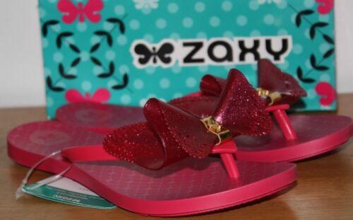 ZAXY Ragazze Da Donna Fresh Butterfly ROSA GLITTER Infradito Sandali Varie Dimensioni B