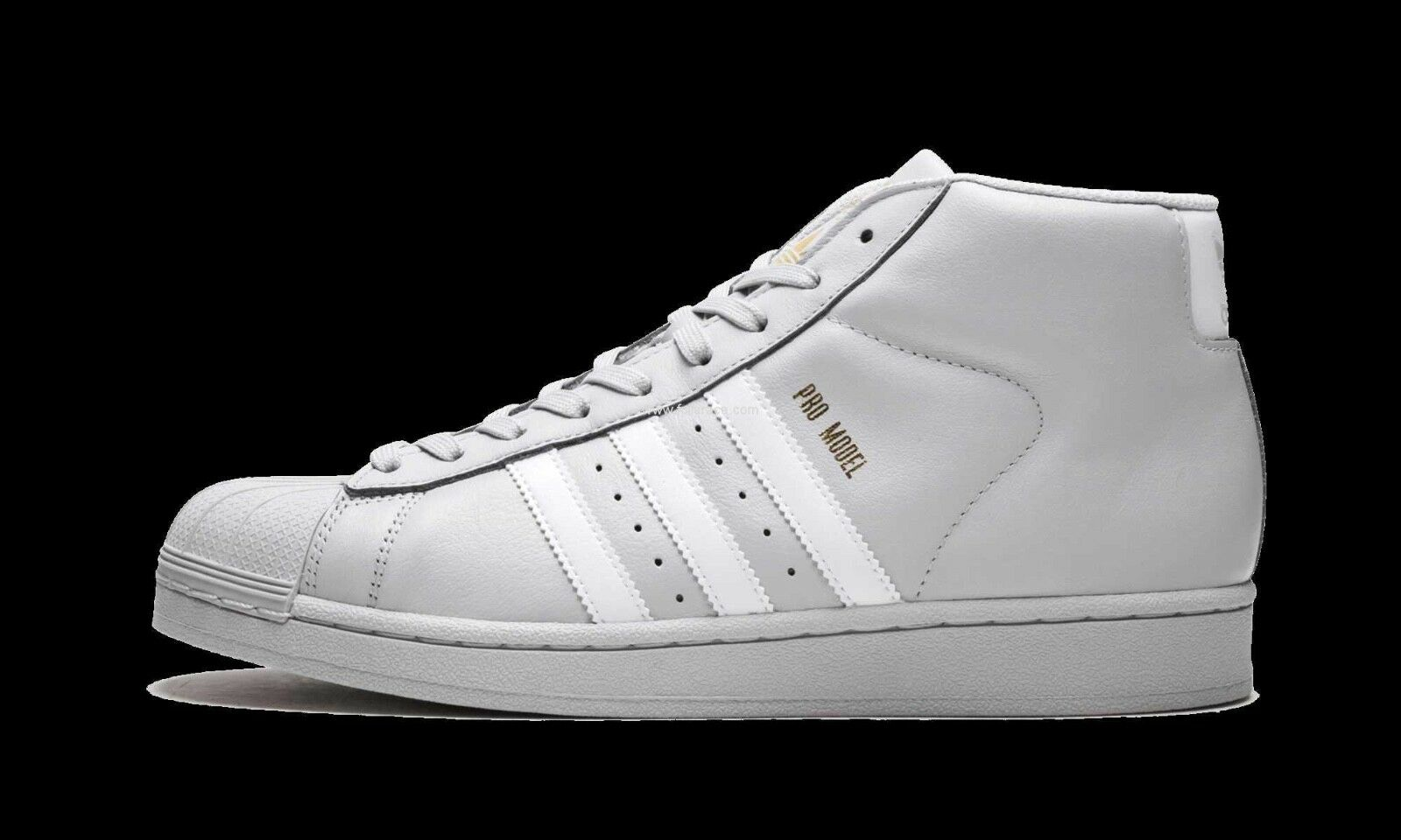 NEW Adidas Originals Pro Model Men's shoes Grey White Leather Shell Toe CG5073