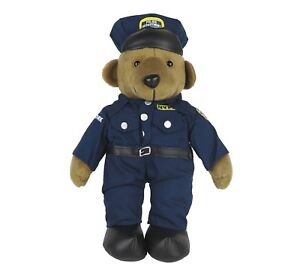 """Teddy Bear Plush Toy Doll FDNY Fire Department of New York City 13.5/"""" New"""