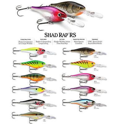 Rapala Shad Rap RS 04 Fishing Lure Shad