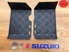 Suzuki LT50 Foot Plates / Rests / Ankle Protectors. Nerf Bars. MATT BLACK