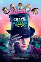 Charlie And The Chocolate Factory Movie Poster 2 Sided Original B 27x40