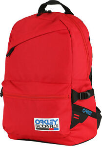 29b2fa19bd2 Image is loading Oakley-Factory-Pilot-Rubber-Patch-Backpack-Redline-20L-