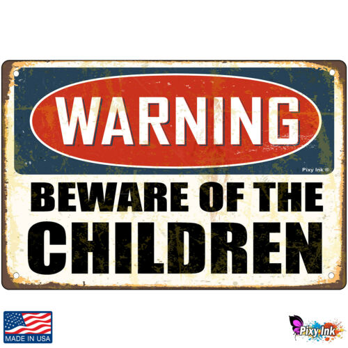 Beware of The Children Decorative Signs /& Plaques Warning
