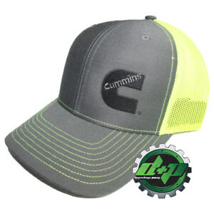 792c46fc4d4 Image is loading Dodge-Cummins-trucker-hat-ball-mesh-richardson-safety-