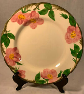 Franciscan-Desert-Rose-Pattern-Made-in-USA-10-1-2-034-Dinner-Plate