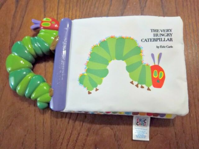 NEW The Very Hungry Caterpillar by Eric Carle soft book