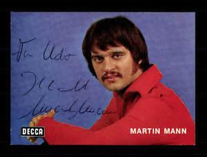 Sammeln & Seltenes Billiger Preis Martin Mann Autogrammkarte Original Signiert ## Bc 92329