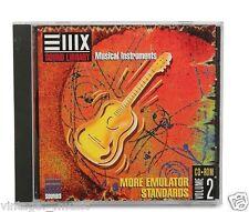 EMU E-MU Sampler Sampling Sound CD EIII ESI E4 E-IV More Emulator Stand. Vol. 2