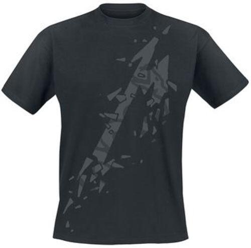 Álbum de Metallica M Negro-oficial hombre Negro T-Shirt