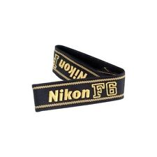 Nikon neck strap for F6 SLR simple black AN-19