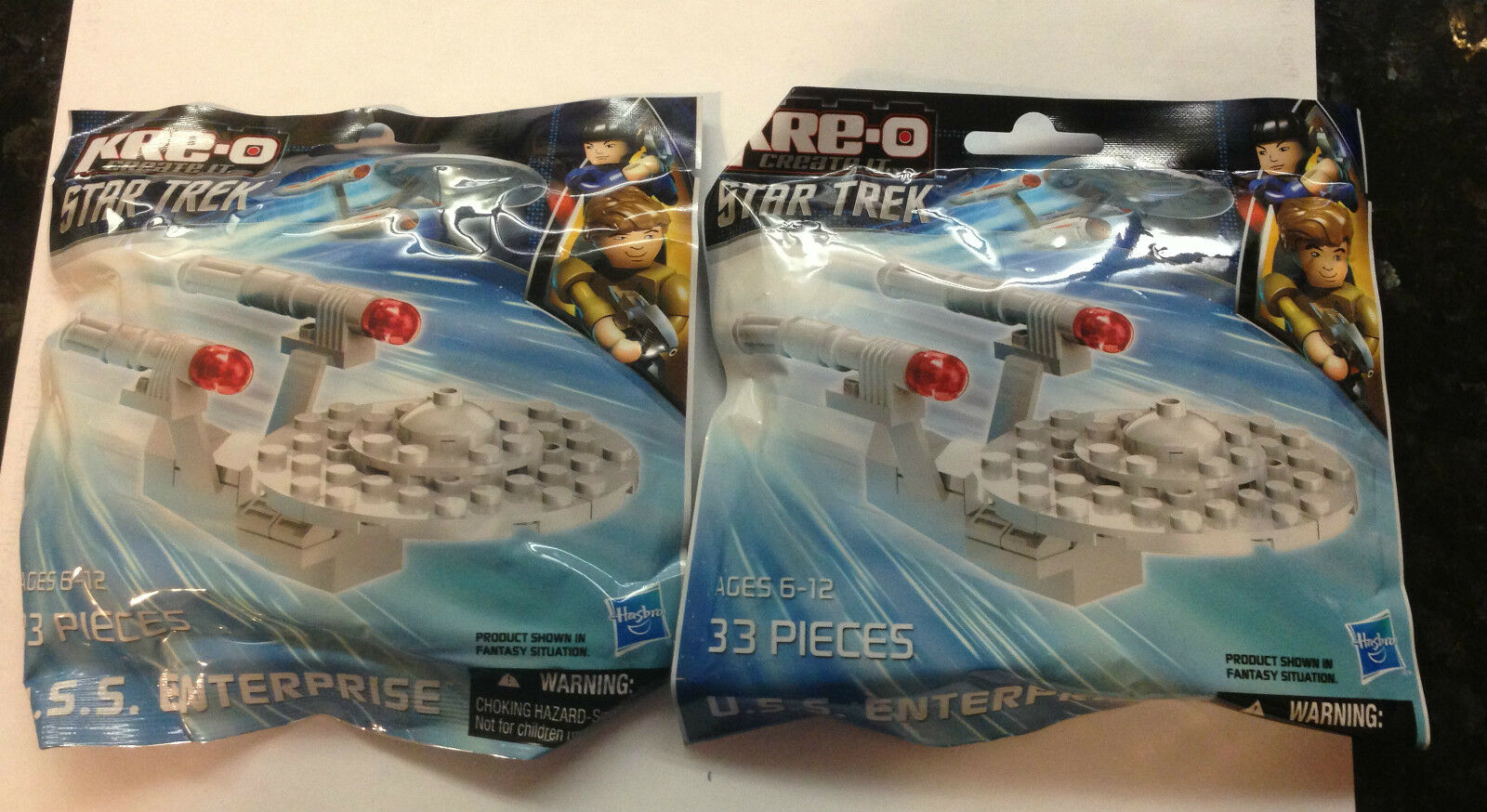 SDCC 2013 RARE EXCLUSIVE FROM FROM FROM HASBRO A SET OF 2 STAR TREK ENTERPRISE KREE-O'S c2c20f