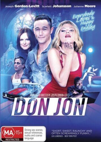 1 of 1 - Don Jon (2013) Joseph Gordon-Levitt, Scarlett Johansson - NEW DVD - Region 4