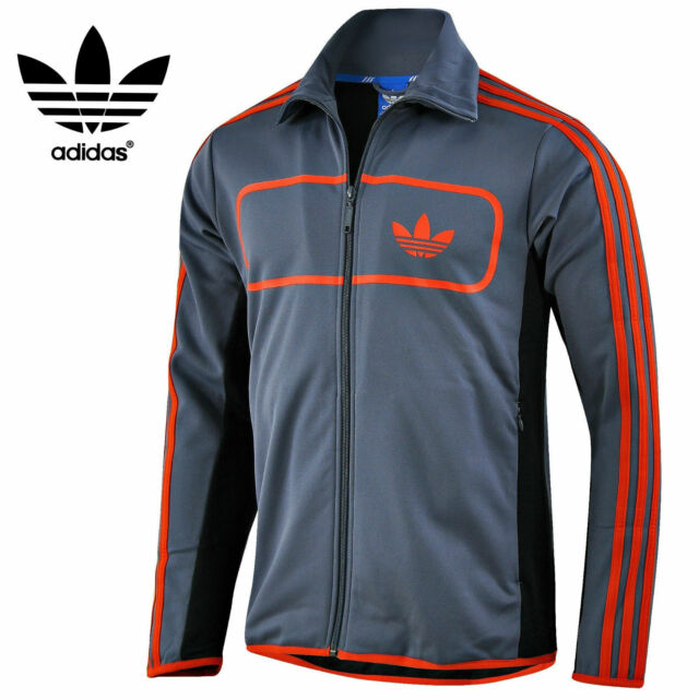 Adidas Originals Mens ST Driver Full Zip Track Top Jacket Free Tracked Post