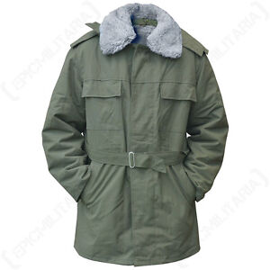 Czech Olive Green M85 Adult Parka - Jacket Coat Army Surplus Liner ...