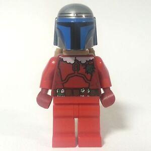 Lego star wars figurine Santa Jango Graisse sw506 de 75023 Noël