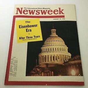 VTG Newsweek Magazine January 23 1956 - The Eisenhower Era After 3 Years