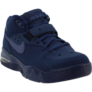wholesale dealer 61cd4 90e31 Image is loading Nike-Air-Force-Max-Sneakers-Blue-Mens
