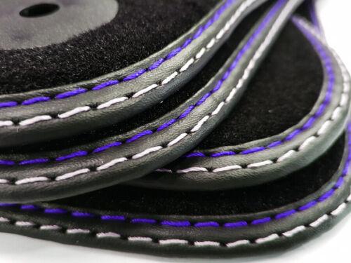 Fußmatten für Ford KUGA Original Qualität Velours Automatten //// Doppelnaht