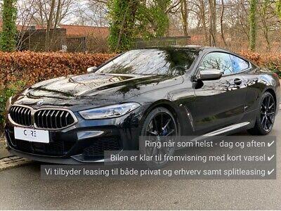 Annonce: BMW M850i 4,4 Coupé xDrive aut. - Pris 0 kr.