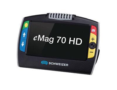 """Emag 70hd Elektronische Leselupe Mit Hochauflösendem 17,5 Cm 7,0"""" Display Lupen"""