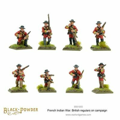 Warlord Games French Indian War British Regulars On Campagna 28mm Black Powder