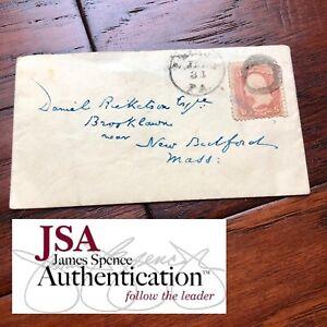 CHARLES-DICKENS-JSA-LOA-Handwritten-Addressed-Envelope-No-Autograph-Signed