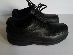 Rockport-Works-RK6761-Leather-World-Tour-Oxford-Shoes-Steel-Toe-Men-039-s-10W-Black