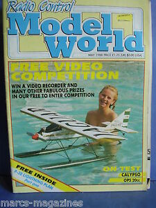 RCMW-RC-MODEL-WORLD-MAY-1988-KATIE-HATCHER-P-38-LIGHTNING-PLAN-PART-1-JET-PROVOS