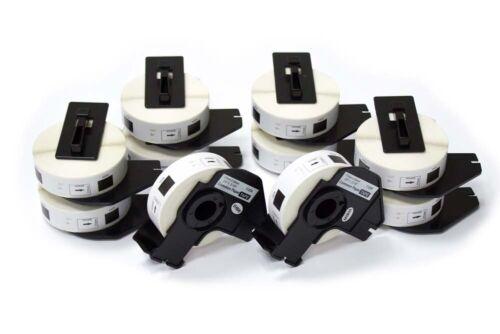 QL-570 10 ROLLEN ETIKETTEN 17x54mm STANDARD für BROTHER P-touch QL-560VP