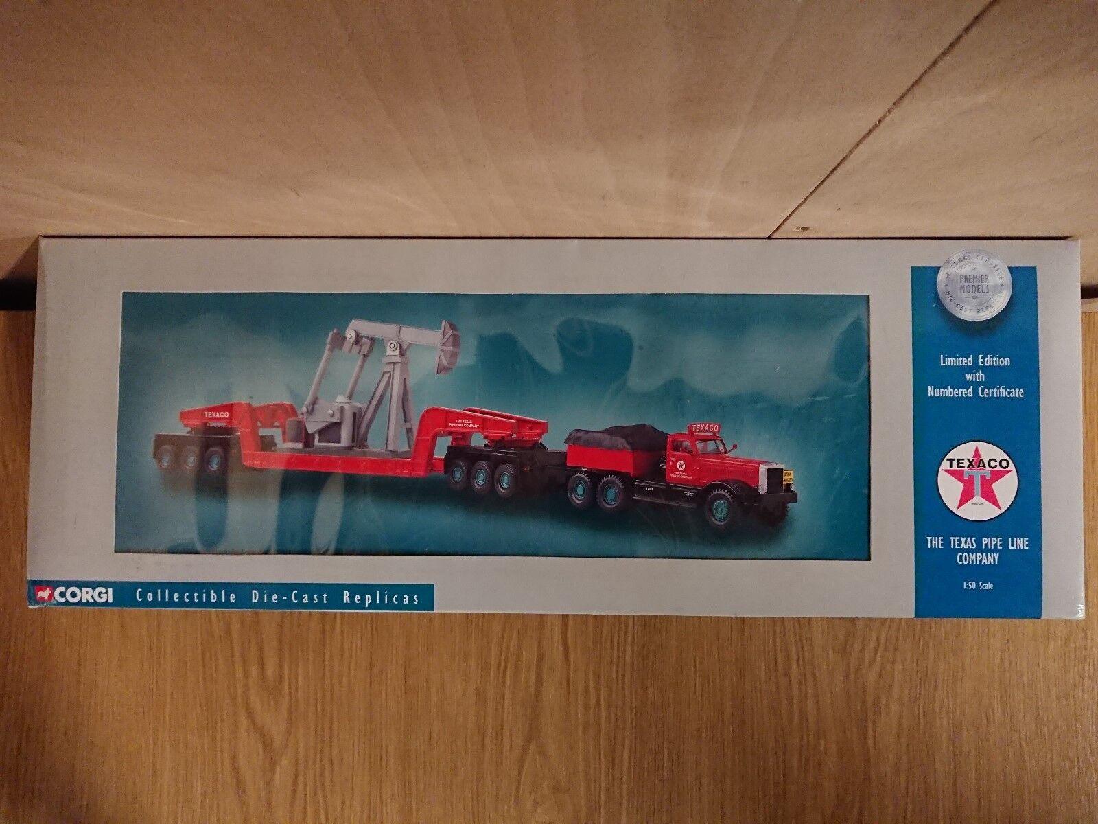 Corgi 55304 Diamond T980 Girder Trailer Nodding Donkey Ltd Ed No. 0001 of 3000