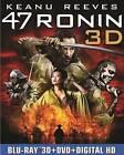 47 Ronin (Blu-ray/DVD, 2014, 3-Disc Set, Includes Digital Copy UltraViolet 3D)