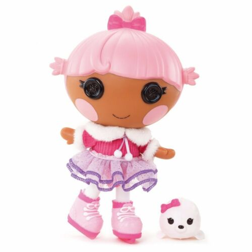 Lalaloopsy Littles Doll Ages 4 Toy Girls Pretend Play Ice Skating Pet Ice Cream