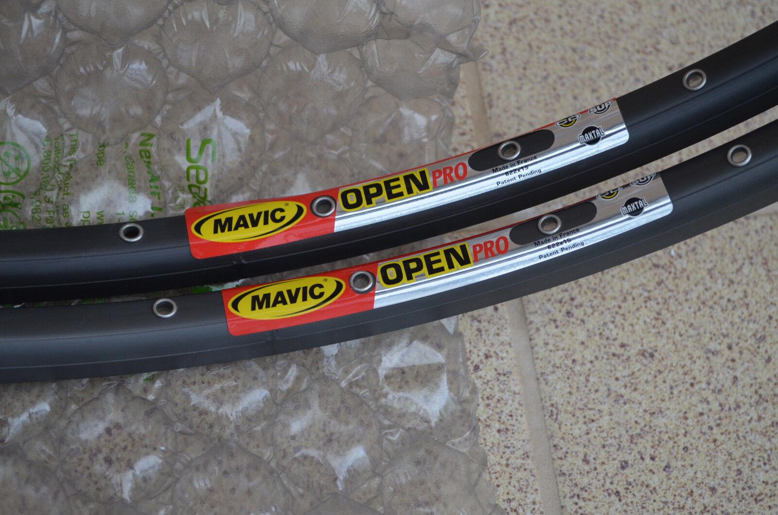 NOS Mavic Open Pro 32h clincher 700C rims