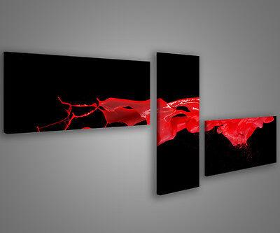 Quadri moderni astratti 180 x 70 stampe su tela canvas intelaiate MIX-S/_113
