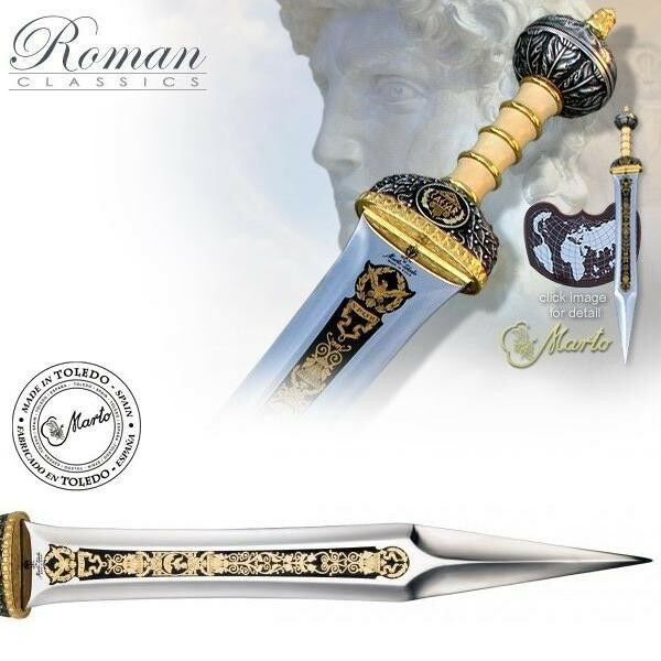 Marto of SPAIN -  Deluxe Roman Sword of Julius Caesar