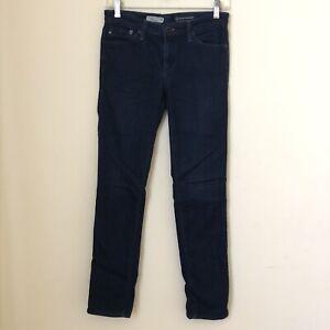 AG Adriano Goldschmied The Stilt Cigarette Leg Skinny Jeans Dark Wash Sz 27 R