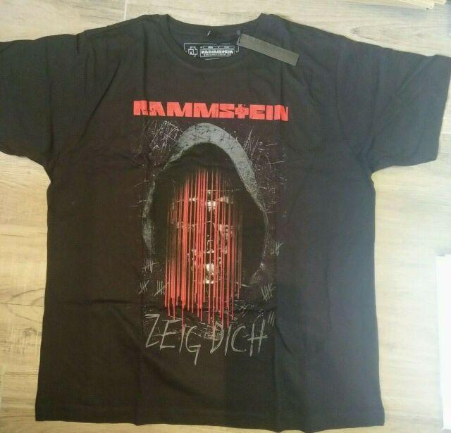 Rammstein - T-Shirt Zeig Dich Ltd. Store Edition 72 Stunden XXXL Neu NEW