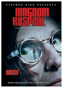 MINT-DVD-Stephen-King-Presents-Kingdom-Hospital-DVD-2004-4-Disc-Set