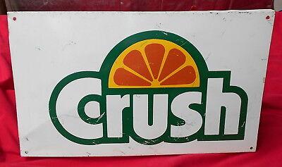 Door push bar 30/'/' Orange Crush Retro Antique Soda Advertising sign