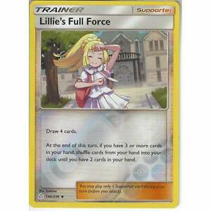 Rev Holo MINT Pokemon LILLIE/'S FULL FORCE 196//236 Cosmic Eclipse