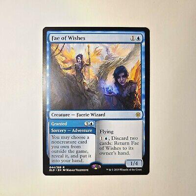 4x Fae of Wishes Throne of Eldraine MtG Rare Standard