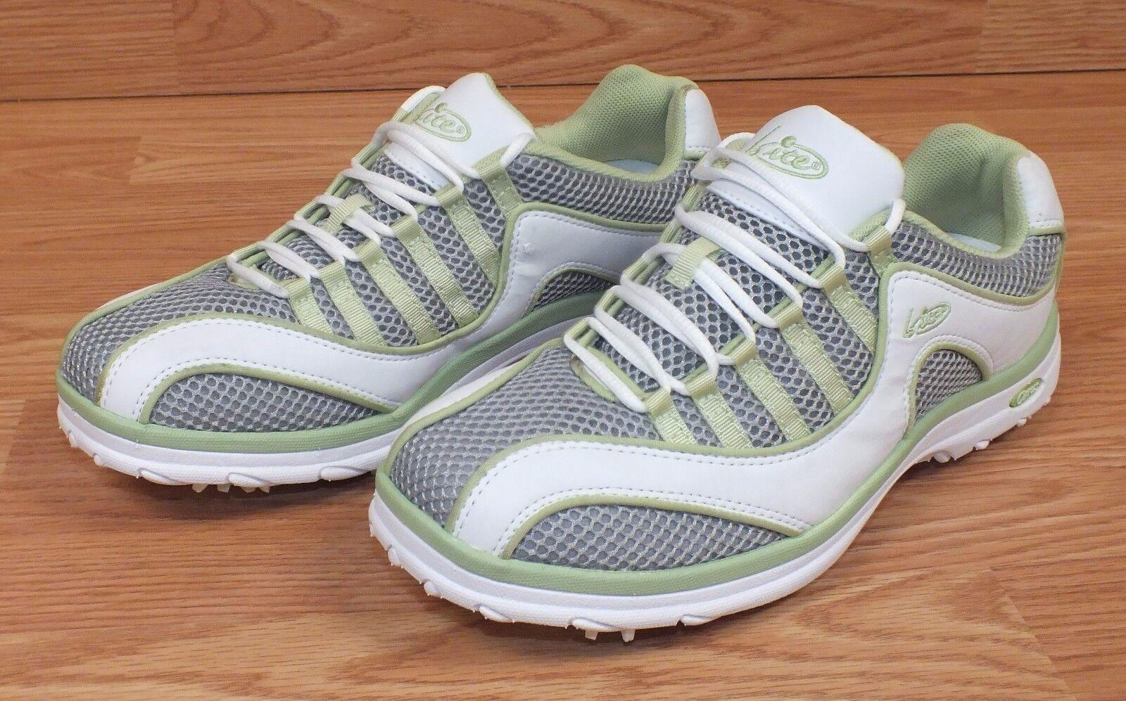 Bite Cirrus Series Damenschuhe Größe Golfing 8 Grün & Weiß Golfing Größe Schuhes With Grip On Bottom 1bbcf0