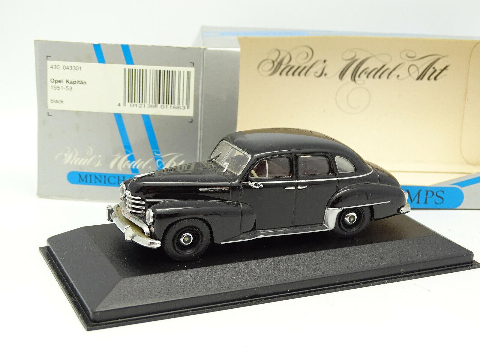 Minichamps 1 43 - Opel Kapitan 1951 black