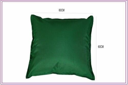 Waterproof Garden Cushion Covers Furniture Outdoor Indoor Seats Cushion 2 Sizes