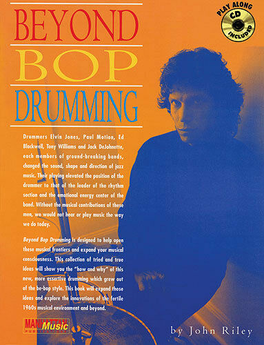 Beyond Bop Drumming Learn to Play Drums Rock Pop Music Book /& CD