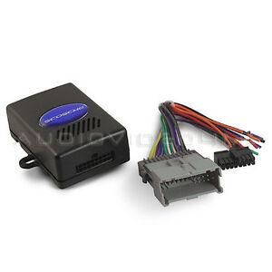 new scosche gm2000a gm radio car stereo wire wiring harness chime image is loading new scosche gm2000a gm radio car stereo wire